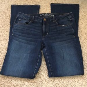 American Eagle boot cut jeans in EXTRA LONG